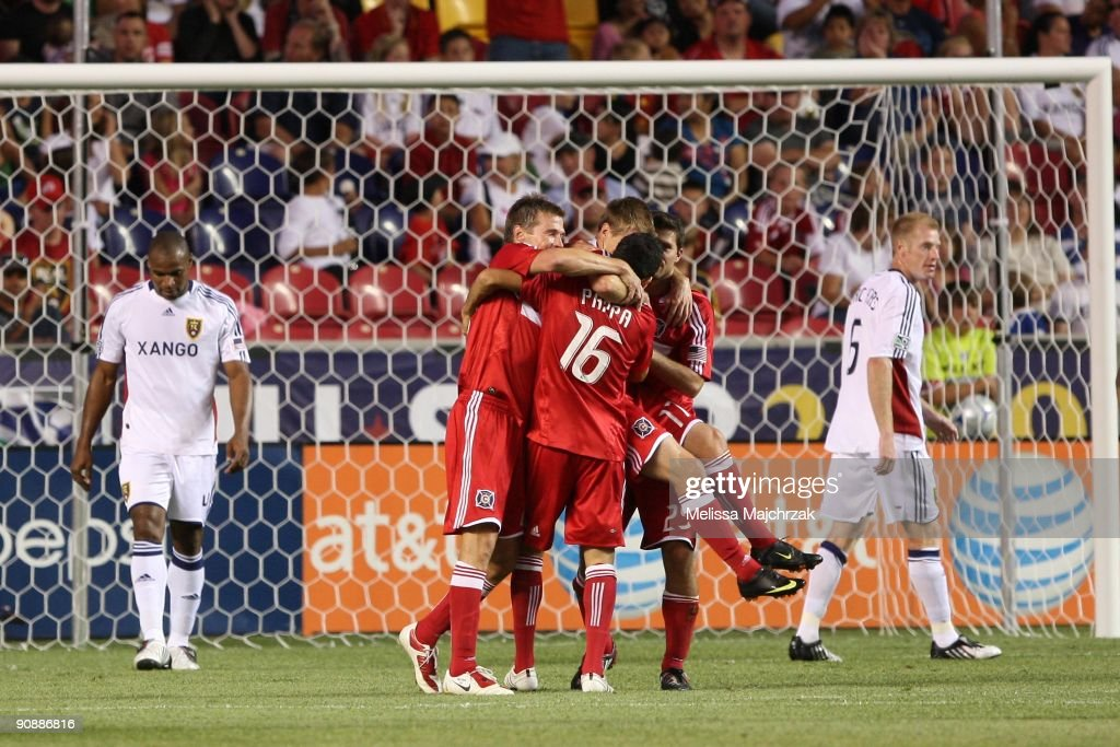 Chicago Fire v Real Salt Lake : News Photo
