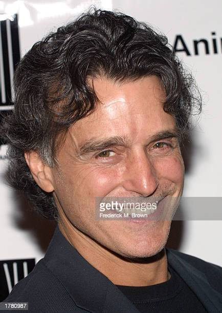 Chris Rose attends the Last Chance For Animals fundraiser party on February 12 2003 in Los Angeles California The event benefits National Pet Theft...