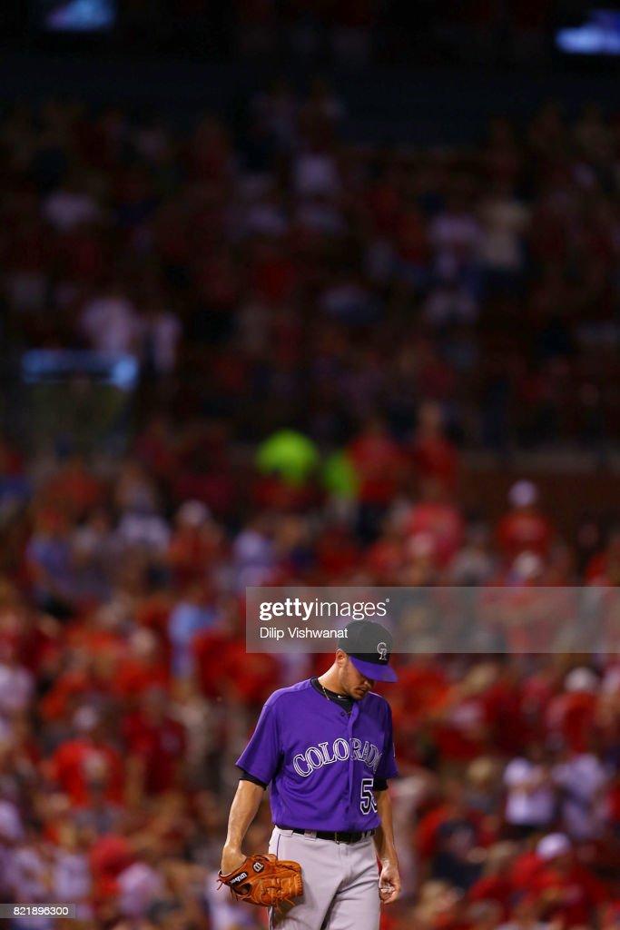 Colorado Rockies v St Louis Cardinals