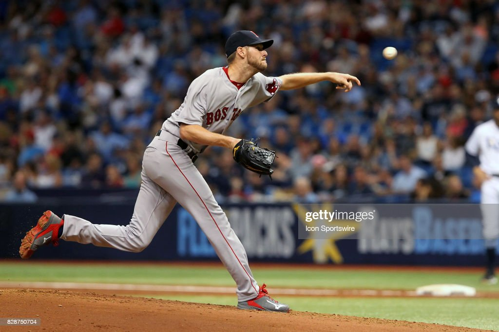 MLB: AUG 08 Red Sox at Rays : News Photo