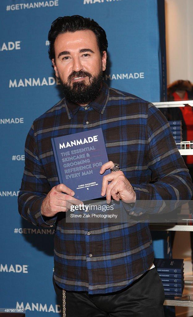 """Chris Salgardo's """"MANMADE"""" Book Pre-Launch Party"""