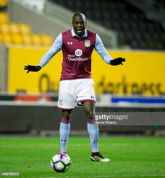 Chris Samba of Aston Villa during the Premier League 2 match between Wolverhampton Wanderers and Aston Villa at the Molineux on March 06 2017 in...