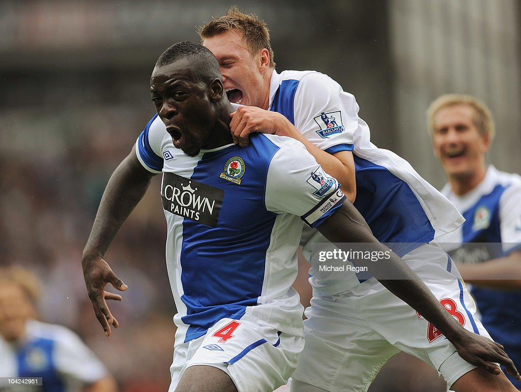 Blackburn Rovers v Fulham - Premier League : News Photo