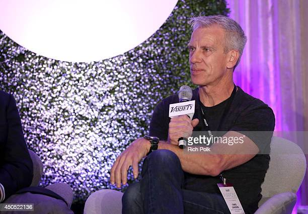 Chris Sanders Director/Writer speaks onstage during the 'Innovators of Family Entertainment and FaithBased Storytelling' panel at Variety's Purpose...
