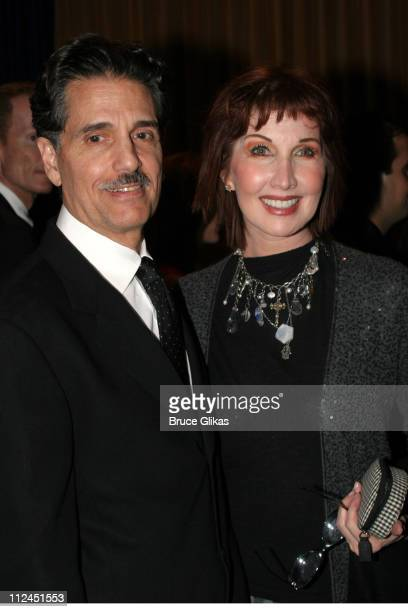 Chris Sarandon and Joanna Gleason during Opening Night After Party for Jersey Boys on Broadway at The August Wilson Theater and The Marriott Marquis...