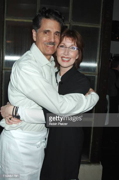 Chris Sarandon and wife Joanna Gleason during Celebrities Wait Tables To Benefit Project ALS at Sapa in New York City New York United States