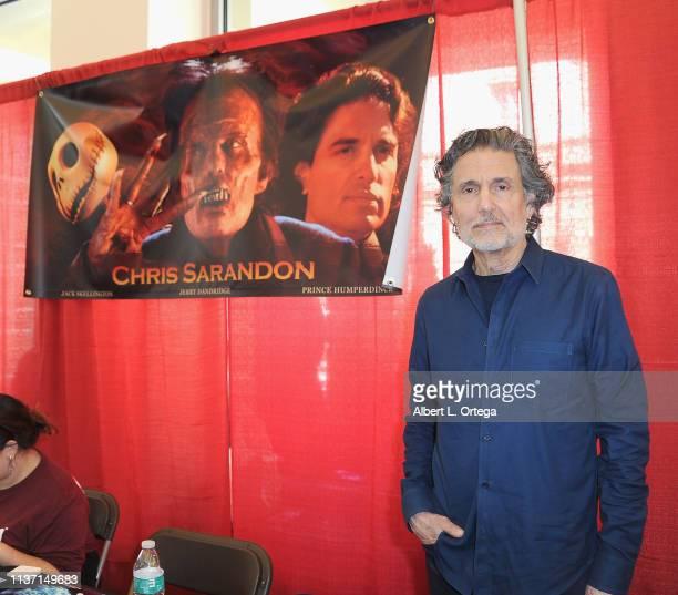Chris Sarandon attends day 2 of Monsterpalooza held at Pasadena Convention Center on April 13 2019 in Pasadena California