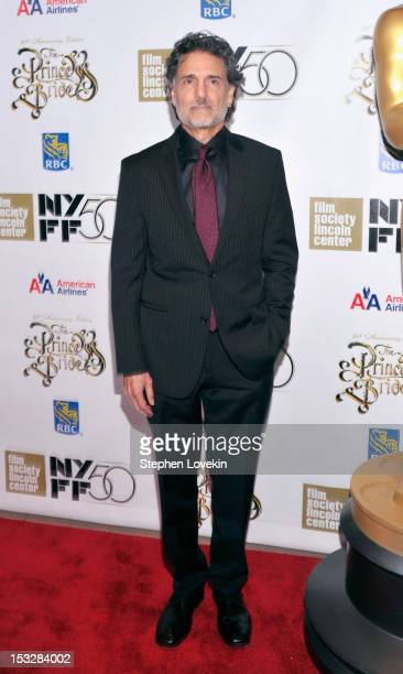 Chris Sarandon attends the 25th anniversary screening cast reunion of The Princess Bride during the 50th New York Film Festival at Alice Tully Hall...