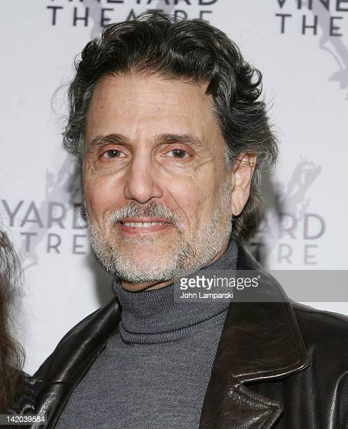 Chris Sarandon attends the NOW HERE THIS OffBroadway opening night at the Vineyard Theatre on March 28 2012 in New York City