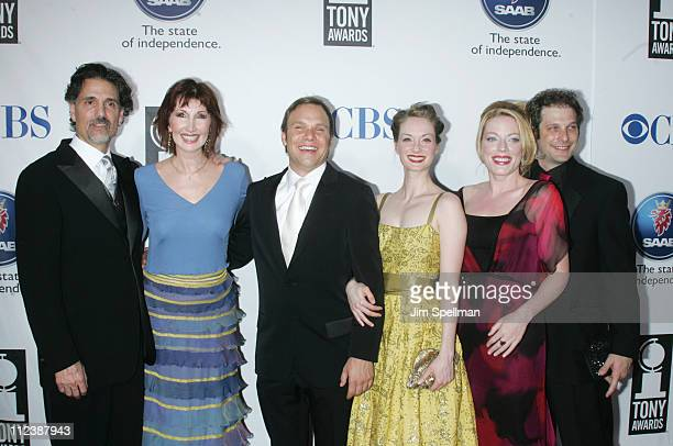 Chris Sarandon Joanna Gleason nominee Best Performance by a Featured Actress in a Musical for Dirty Rotten Scoundrels Norbert Leo Butz nominee Best...