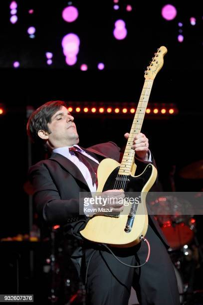 Chris Scianni performs onstage at the Second Annual LOVE ROCKS NYC A Benefit Concert for God's Love We Deliver at Beacon Theatre on March 15 2018 in...