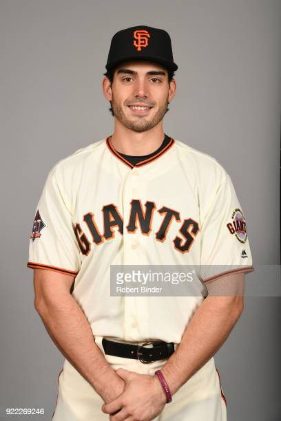 Chris Shaw of the San Francisco Giants poses during Photo Day on Tuesday February 20 2018 at Scottsdale Stadium in Scottsdale Arizona