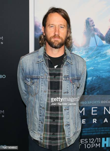 Chris Shiflett attends HBO's 'Momentum Generation' premiere held at The Broad Stage on November 05 2018 in Santa Monica California