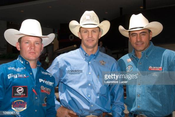 Chris Shivers, Ty Murray, and Adriano Moraes during The ... Professional Bull Riders Adriano Moraes