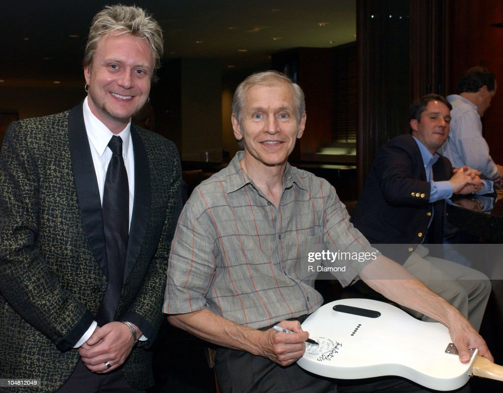 Chris Siciciano, Virgin Records and Fred Gretsch during The Recording Academy presents The 2003 Atlanta Heroes Awards at Westin Peachtree Plaza in Atlanta, Georgia, United States.