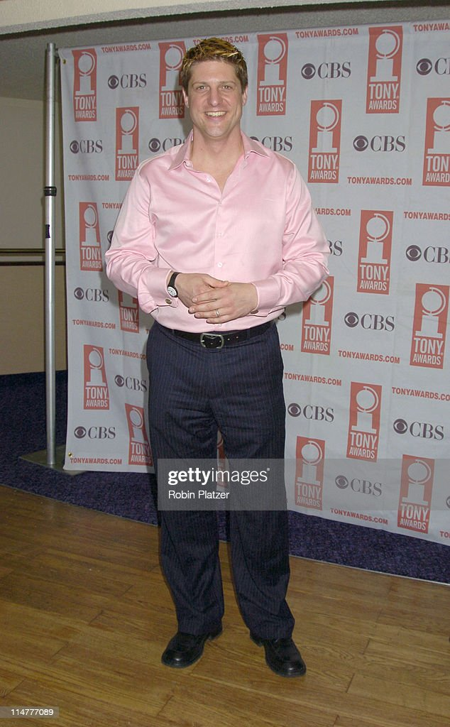 Chris Sieber of Monty Python's Spamalot during 59th Annual Tony Awards Nomination Press Conference at Marriott Marquis in New York City, New York, United States.