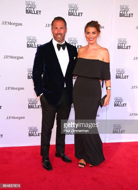 Chris Sieger and Catherine Sieger attend the 2018 New York City Ballet Spring Gala at David H Koch Theater Lincoln Center on May 3 2018 in New York...