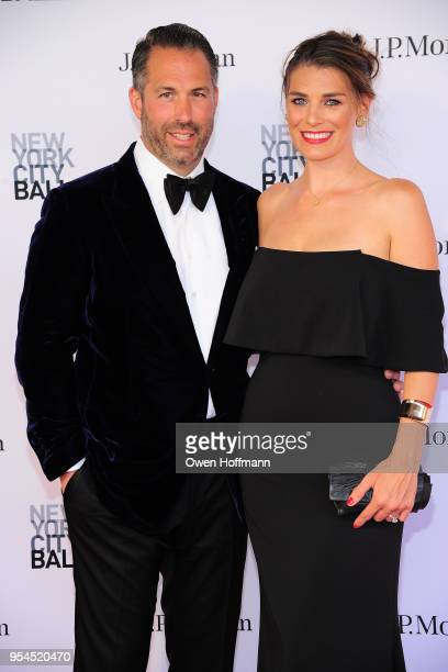 Chris Sieger and Catherine Sieger attends New York City Ballet 2018 Spring Gala at David H Koch Theater Lincoln Center on May 3 2018 in New York City