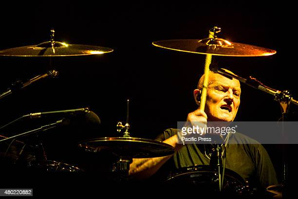 Chris Slade of AC/DC performs live at Autodromo Internazionale Enzo e Dino Ferrari in Imola AC/DC are an Australian hard rock band formed in November...