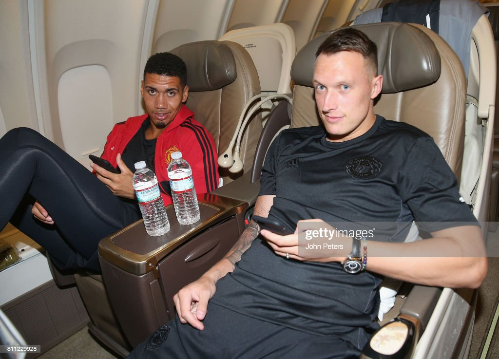Manchester United Depart For Their Pre Season Tour of The US : News Photo