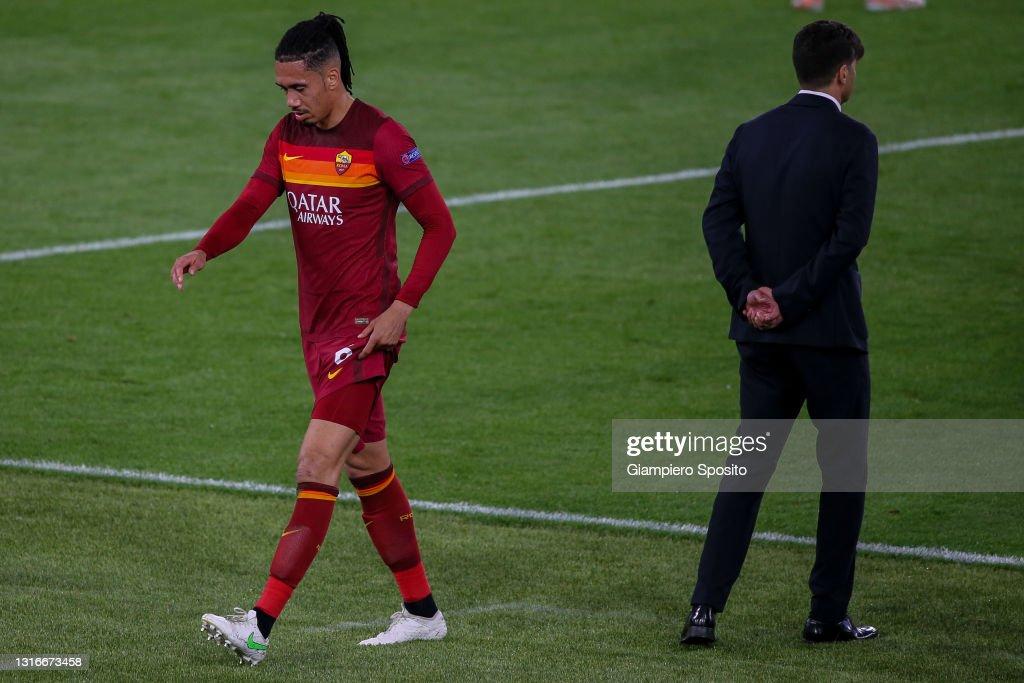 AS Roma v Manchester United - UEFA Europa League Semi Final: Leg Two : ニュース写真