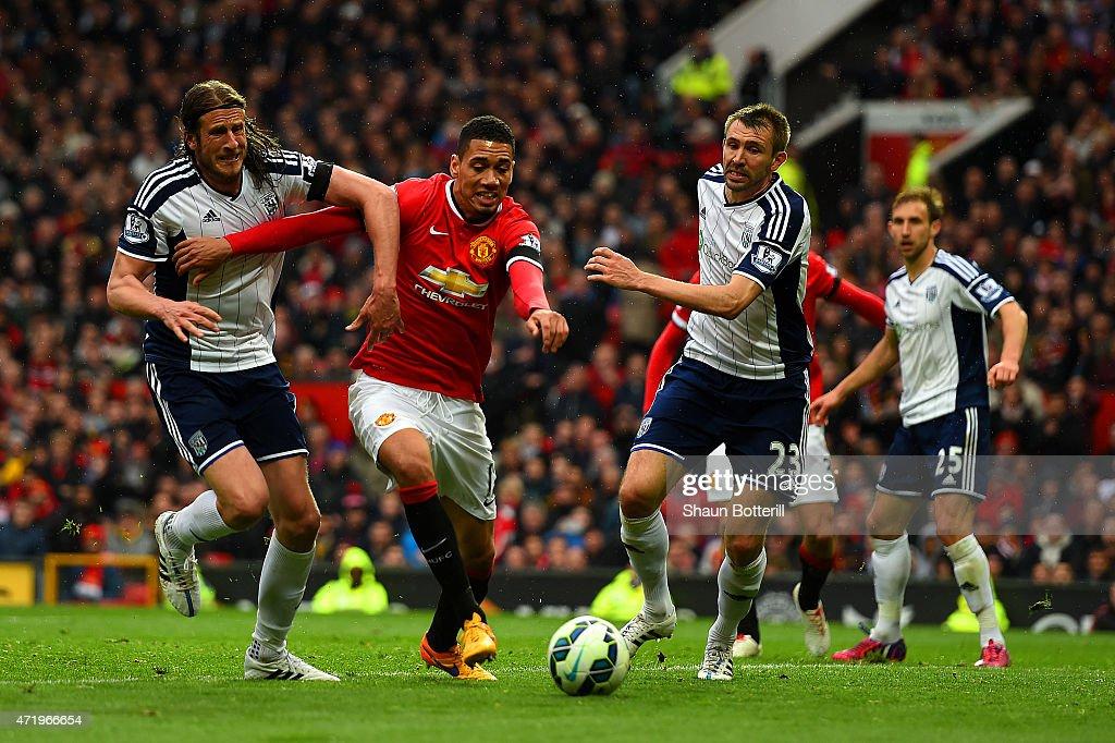 Manchester United v West Bromwich Albion - Premier League : Fotografía de noticias