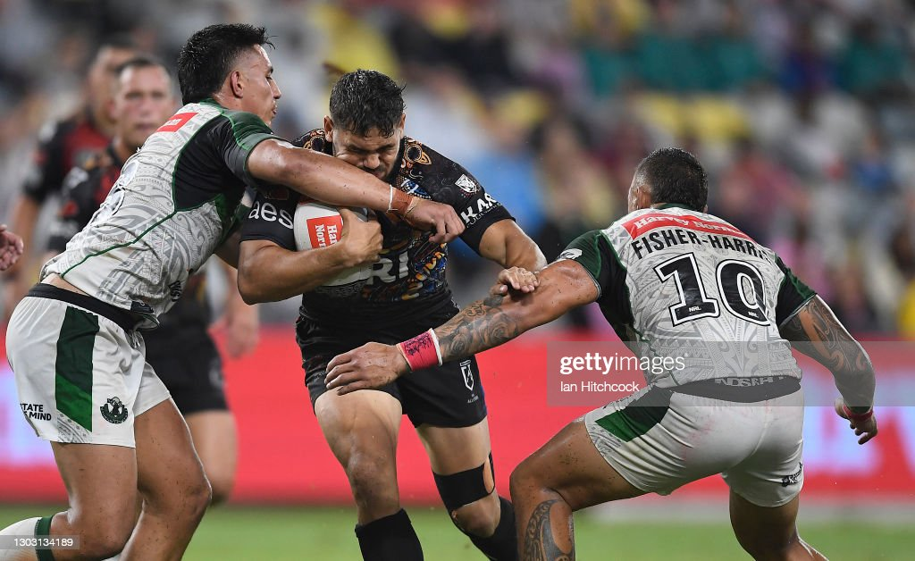 NRL All Stars game - Indigenous v Maori Men's : News Photo