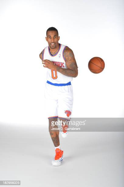 Chris Smith of the New York Knicks poses for a portrait at Media Day on September 30 2013 at Madison Square Garden in New York City New York NOTE TO...