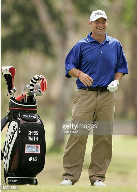 Chris Smith smiles at the sixth tee during the first round of the Movistar Panama Championship held on January 24, 2008 at Club de Golf de Panama in...