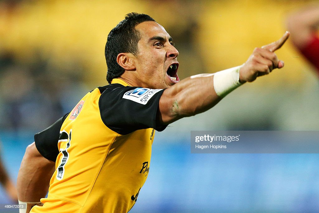 Super Rugby Rd 15 - Hurricanes v Chiefs : News Photo