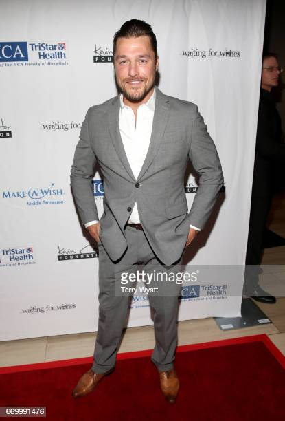 Chris Soules attends the 16th Annual Waiting for Wishes Celebrity Dinner Hosted by Kevin Carter Jay DeMarcus on April 18 2017 in Nashville Tennessee