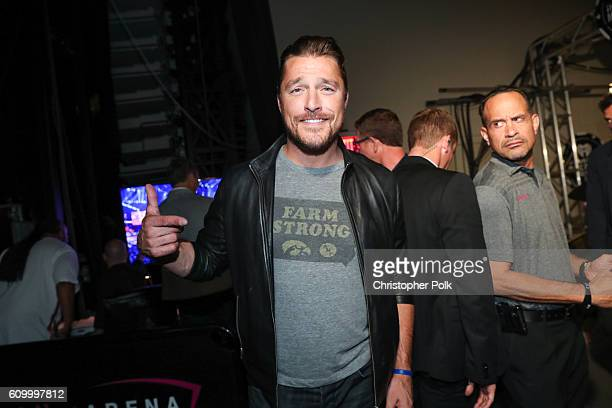 Chris Soules attends the 2016 iHeartRadio Music Festival at TMobile Arena on September 23 2016 in Las Vegas Nevada