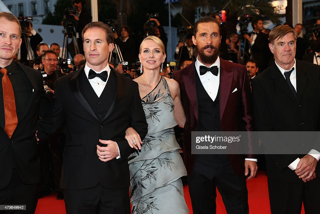 Chris Sparling,Naomi Watts,Matthew McConaughey and Gus Van Sant attend the Premiere of 'The Sea Of Trees' during the 68th annual Cannes Film Festival on May 16, 2015 in Cannes, France.