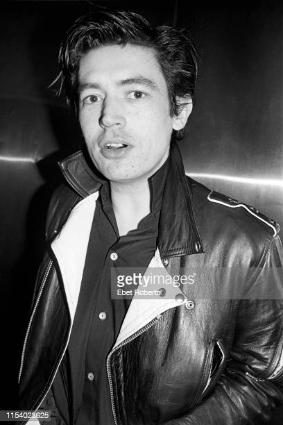 Chris Spedding at Hurrah's in New York City on January 10,1979.