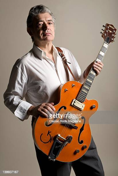 Chris Spedding, English rock and roll and jazz guitarist, London, October 14, 2010.