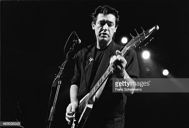 Chris Spedding, guitar performs at the Paradiso in Amsterdam, the Netherlands on 12th November 1989.