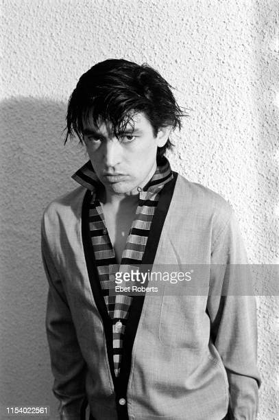 Chris Spedding photographed in his apartment in New York City on February 11,1979.