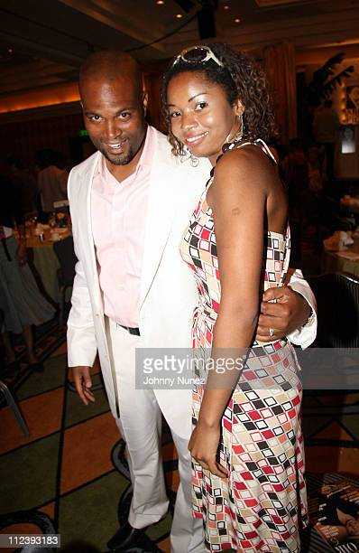 Chris Spencer and Raelene Birkett during 2006 ABFF Independent Film Awards July 23 2006 at RitzCarlton Hotel in Miami Florida United States
