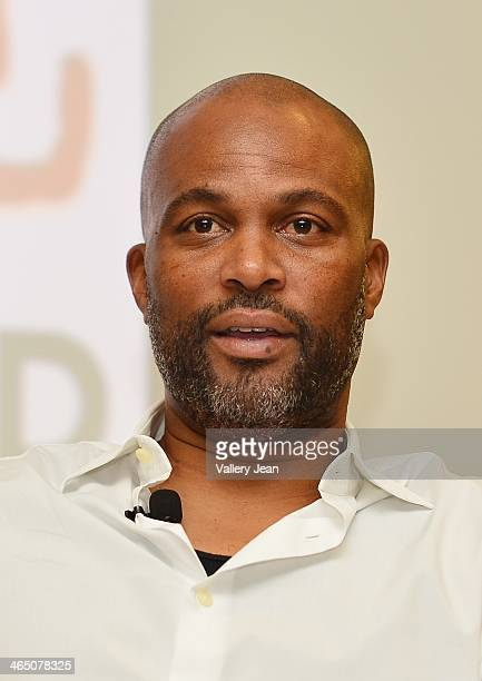 Chris Spencer attends a master class series A Conversation with Chris Spencer conducted by Miami Film Life Center at Camillus House on January 25...