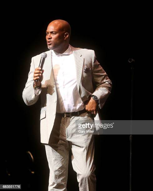 Chris Spencer performs in concert during the 'Total Blackout' tour at The Bass Concert Hall on May 15 2017 in Austin Texas