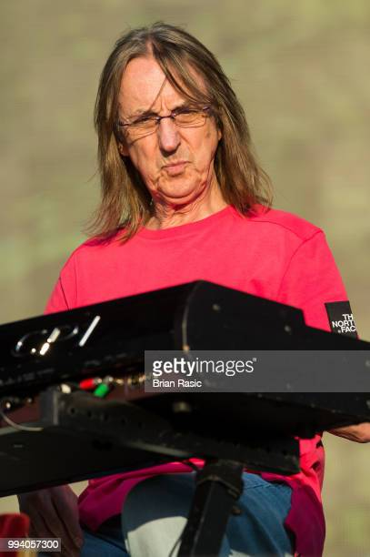 Chris Stainton performs live with Eric Clapton at Barclaycard present British Summer Time Hyde Park at Hyde Park on July 8 2018 in London England