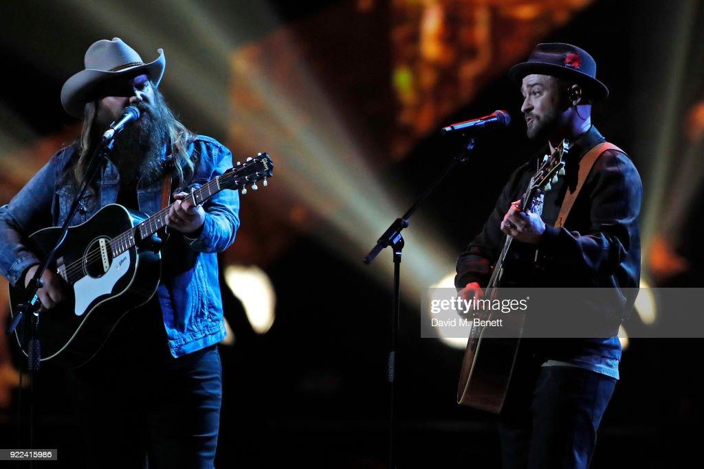 The BRIT Awards 2018 - Show : ニュース写真