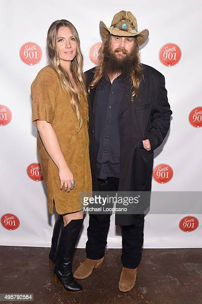 Chris Stapleton attends the CMA After Party at Citizen hosted by Justin Timberlake and Sauza 901 Tequila on November 4 2015 in Nashville Tennessee