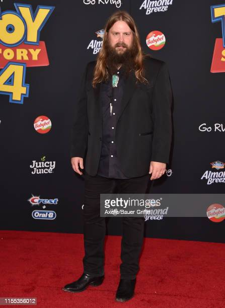 "Chris Stapleton attends the Premiere of Disney and Pixar's ""Toy Story 4"" on June 11, 2019 in Los Angeles, California."