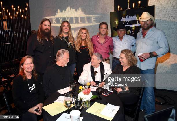 Chris Stapleton Morgane Stapleton Lee Ann Womack Waylon Payne George Strait Toby Keith Lisa Meyers Kris Kristofferson Jerry Lee Lewis and Judith...
