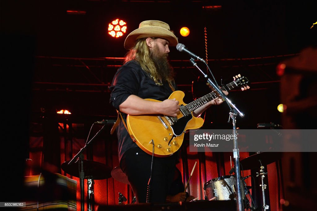 Chris Stapleton performs at 'A Concert for Charlottesville,' at University of Virginia's Scott Stadium on September 24, 2017 in Charlottesville, Virginia. Concert live-stream presented in partnership with Oath.