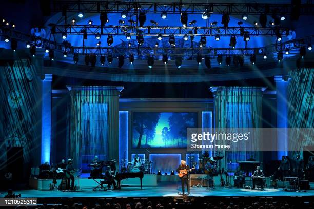 Chris Stapleton performs at The Library of Congress Gershwin Prize tribute concert at DAR Constitution Hall on March 04 2020 in Washington DC