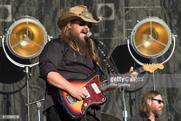 Chris Stapleton performs during the Austin City Limits Music Festival at Zilker Park on October 2, 2016 in Austin, Texas.