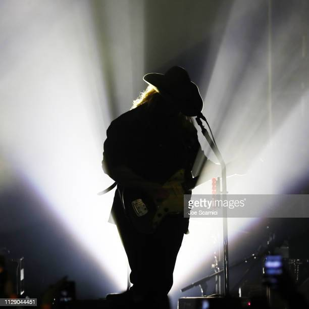 Chris Stapleton performs onstage at Citi Sound Vault Presents Chris Stapleton at Hollywood Palladium on February 10 2019 in Los Angeles California