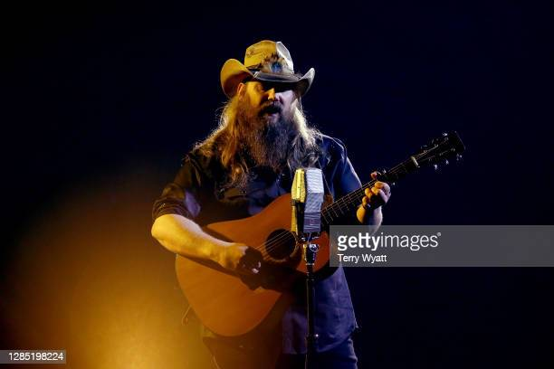 "Chris Stapleton performs onstage at Nashville's Music City Center for ""The 54th Annual CMA Awards"" broadcast on Wednesday, November 11, 2020 in..."